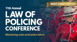 Law of Policing Conference