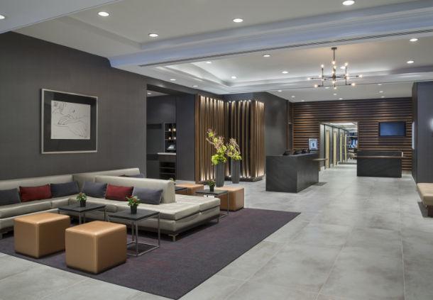 Lobby Marriott Yorkville