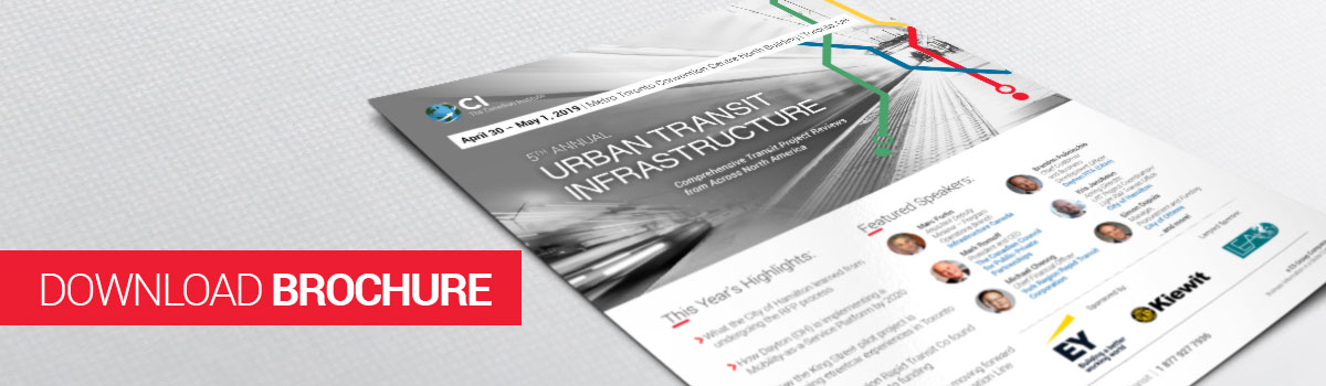 5th Annual Delivering Urban Transit Infrastructure