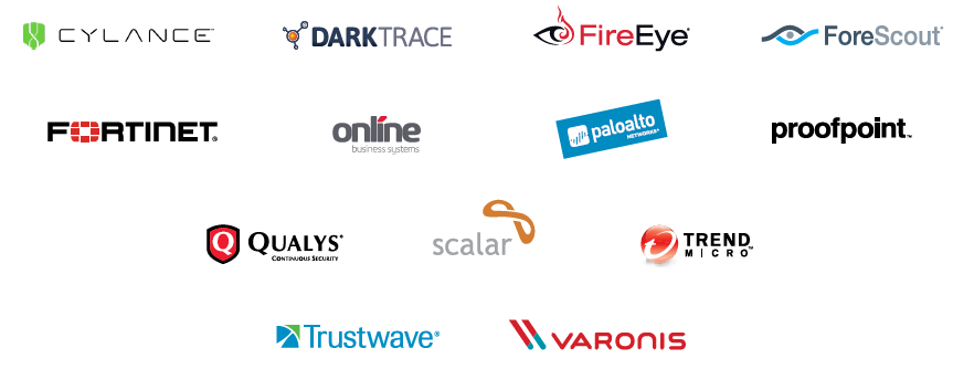 Past Cyber Security Connect Sponsors